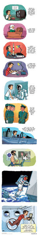 nickdouglas:  CHRIS HADFIELD: An astronaut's advice (comic by Gavin Aung Than)  I reblog http://zenpencils.com a lot. There's a reason
