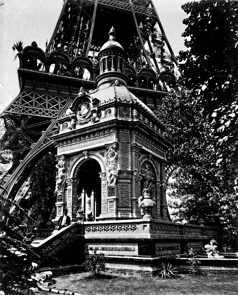 The Perusson Pavilion at the 1889 Exposition, Paris