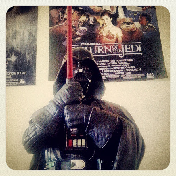 Darth Vader #starwars #father #new #toy #star #wars #darth #vader  (em Bloco P - UTFPR Cp)