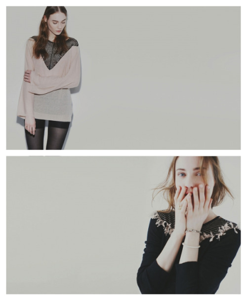 Such great delicate knits from Ryan Roche's A/W 2013 collection. Take a look at the whole lookbook here.