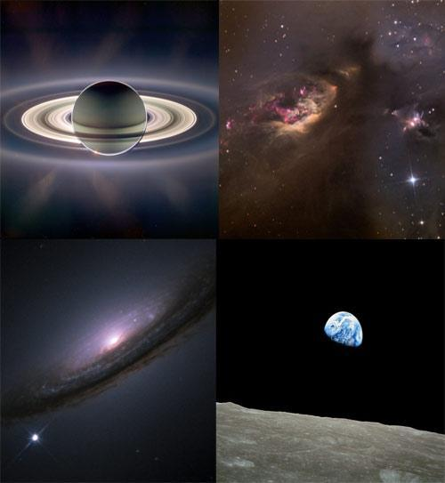 mothernaturenetwork:  10 of the most memorable space photos