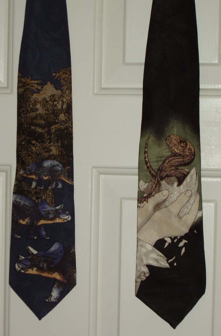 intergalacticju:  Jurassic Park neckties I. NEED. THEM.