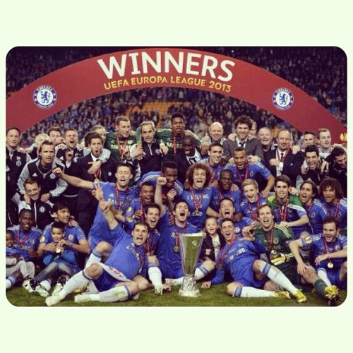 Congratulations Chelsea! Well done boys, you did it!! ❤❤✌👍😱😭😎 #chelseafc #cfc #cfcamsterdam #winners #UEFA #league #2013 #ktbffh