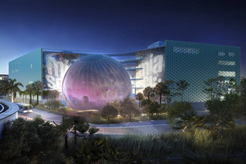 Miami Science Museum by Grimshaw Architects