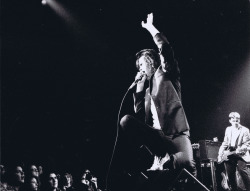 Nick Cave and the Bad Seeds at the Ritz in New York City on July 31, 1992. Photo by Shawn O'Neil