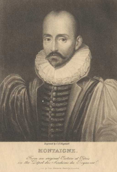 "Michel de Montaigne: The Complete Essays Michel de Montaigne ""To lament that we shall not be alive a hundred years hence, is the same folly as to be sorry we were not alive a hundred years ago."" Montaigne on death and the art of living, at the link:"