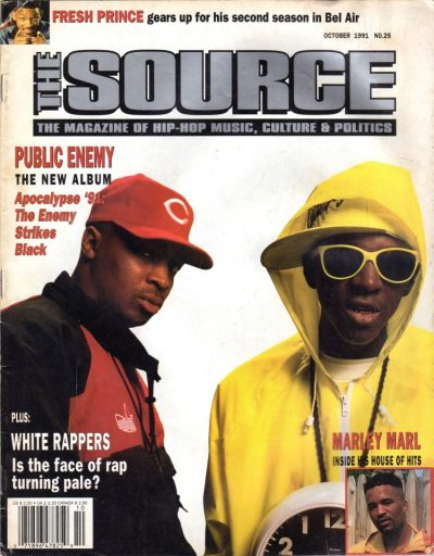 theretrospectofhiphop:  The Source Magazine, 1991.