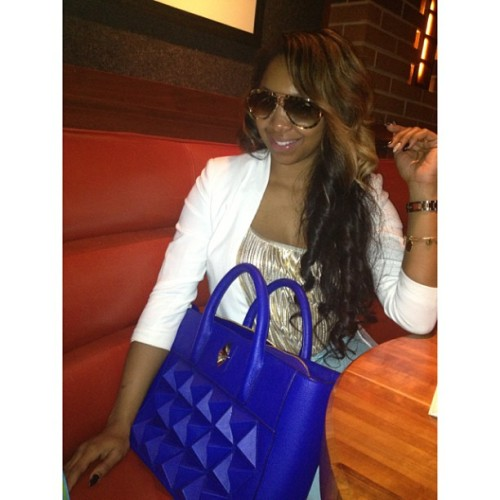Great meeting with @lavishcouture today. Yes the bag is everything. Can't wait till mine gets here straight from customs. 💙