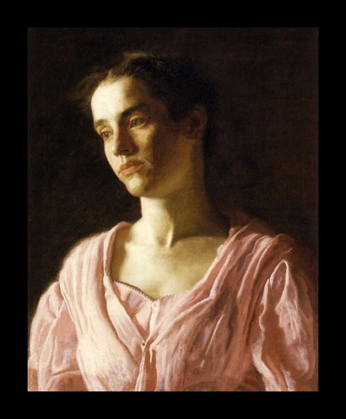 Portrait of Maude Cook, by Thomas Eakins
