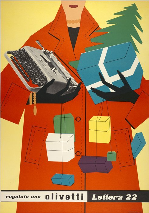 phasesphrasesphotos:  Olivetti Typewriters Egidio Bonfante 1953