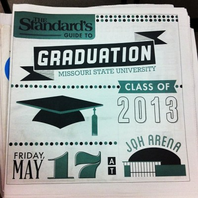 Make sure to snag a copy of The Standard's Graduation Tab in this week's regular issue!