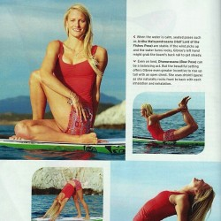 Like what you see in #yogajournal? To get the same rad #supyoga gear, visit gilliangibree.com/sponsors to find the 10% off codes for @kialoapaddles and @404sup! #yoga #yogaeverydamnday #yogalove #paddleboard @beoceanminded @oceanlovedesigns