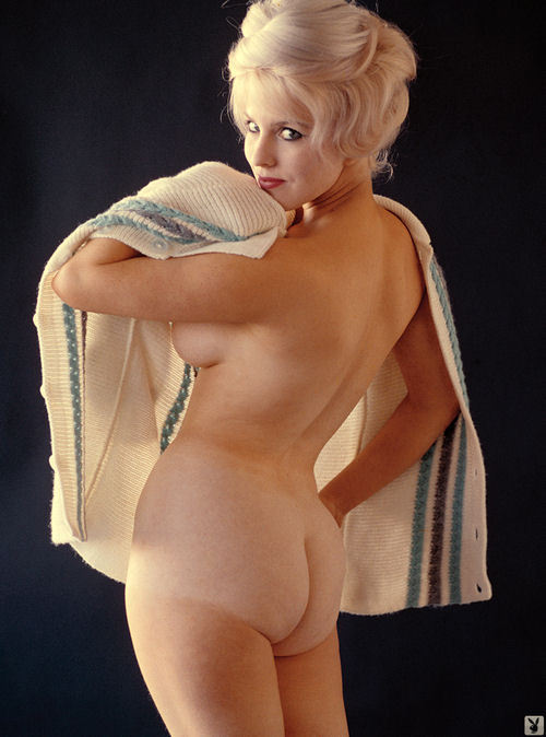 dazzledent:  June Cochran, Playboy magazine's Miss December in 1962 and Playmate of the Year 1963.