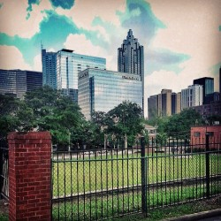 ejay75:  Gotta Love The Nice Lil' View Of Downtown #ATL From The New Crib!