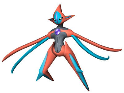 iheartnintendomucho:  Nab your level 100 Deoxys now! The Pokemon Black/White 2 Wi-Fi event that allows you to download the legendary space ferrying Pokemon is now live. It's moves will be Nasty Plot, Dark Pulse, Recover, and Psycho Boost, and come holding a Life Orb and packed in a Dusk Ball. Also, you'll be able to manipulate Deoxys's forms by visiting Nacrene City. The event lasts until May 31.   Follow for more Nintendo news, reviews, and gifs! Preorder Pokémon X, Pokémon Y