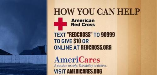 murrayscheese:  msnbc:  Oklahoma tornado disaster: How to help The officials say to please donate blood, or send  help via the Red Cross, Salvation Army, or several other organizations  Thinking of our extended cheese family at Forward Foods, the family and friends of our Oklahoman employees, and all those affected by the tornado. Help if you can!