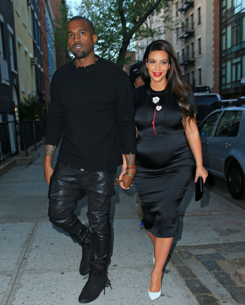 May 5, 2013 - Kim and Kanye in New York City.