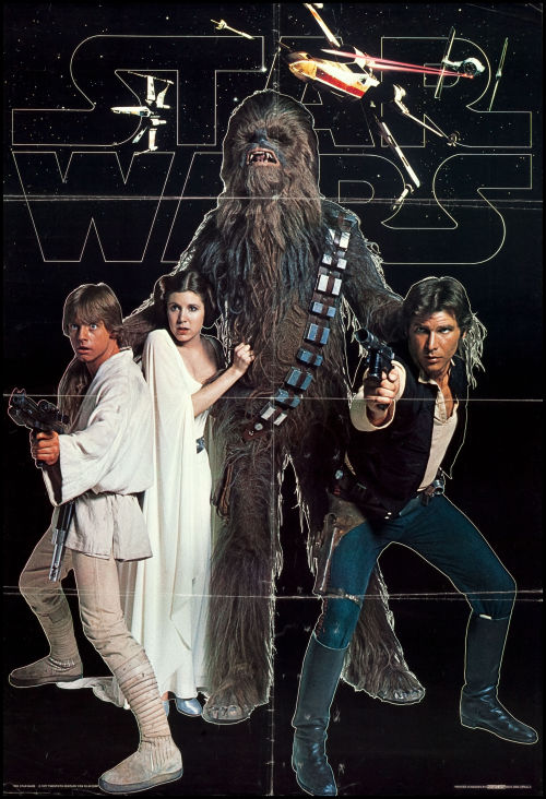 littlebunnysunshine:  Swedish Commercial Star Wars Poster