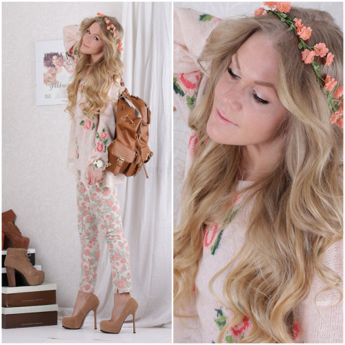 lookbookdotnu:  FLOWERS IN MY HAIR… (by Anna Wiklund)