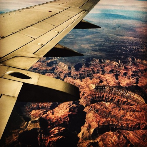 Just buzzin' over the Grand Canyon a few years ago.