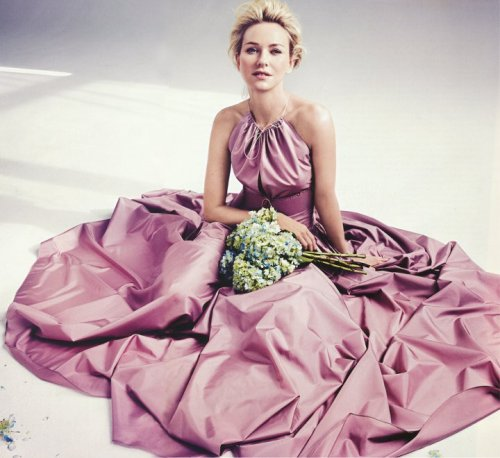 naomi watts by will davidson | azzedine alaia dress