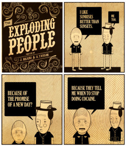 funnyordie:  The Exploding People A weekly foray into the lives of fictional shitbags.