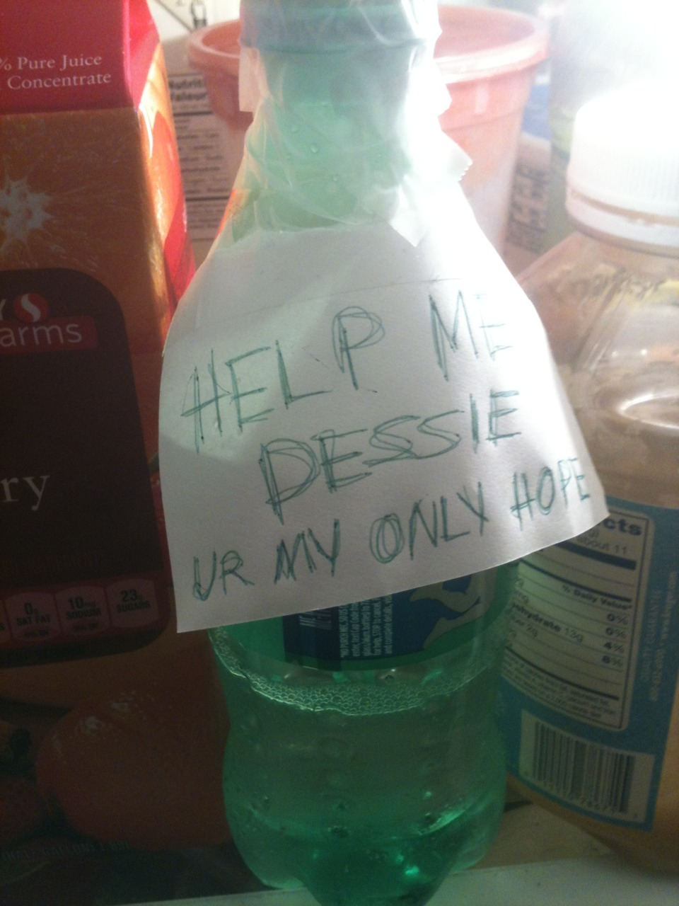 someone left their sprite at my apartment