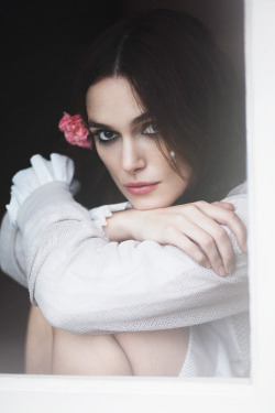 "wildthicket:  ""The Edge of Love"" Keira Knightley photographed by Emily HopeRika magazine S/S 2013"