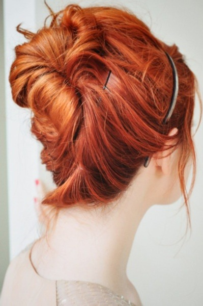 redheadsanddreads:  I Love Being a Girl / ginger up do on We Heart It - http://weheartit.com/entry/58230376/via/ADHDi Hearted from: http://pinterest.com/pin/2040762303418639/