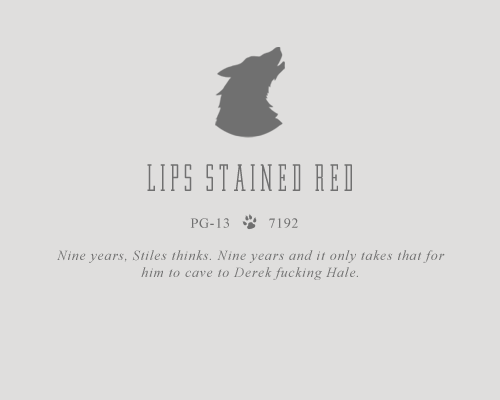 Lips Stained Red (From a Bottle of Wine)