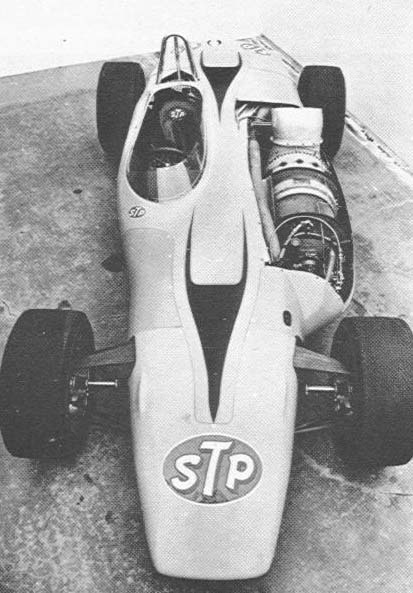 turbine-lust:  1967 Turbine Indy Car ….and it almost won!