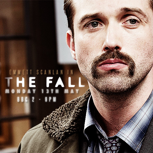 emmettscanlan:  The Fall starts Monday 13th May  BBC Two 9pm   Starts tonight! Don't forget!