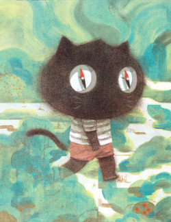 Illustration art animals cats artists on tumblr