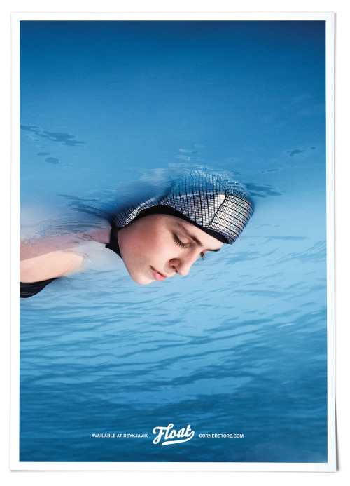 "The float cap is a novelty in health-related products. ""Float"" adds a new dimension to the water experience, one of relaxation and total bliss.Float support can be attached to legs for the perfect floating experience.Available in Black and BlueDesigned by Unnur Valdís http://reykjavikcornerstore.com/floating-cap"