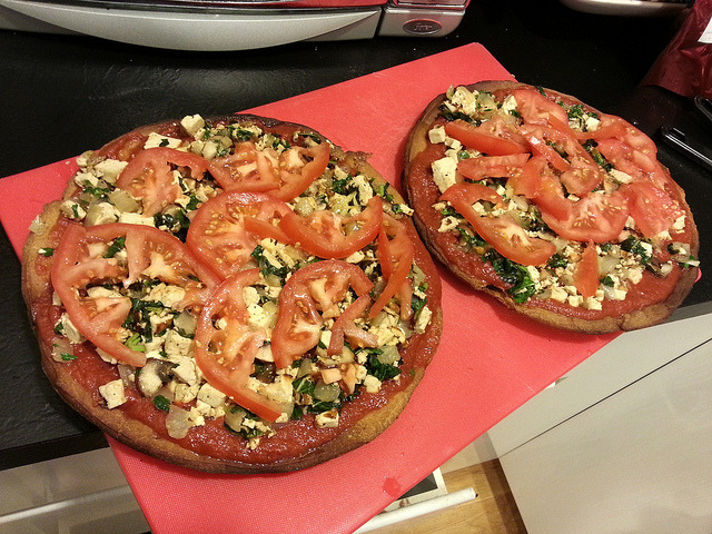 More Vegan Wheat-free Pizzas on Flickr. More Vegan Wheat-free Pizzas