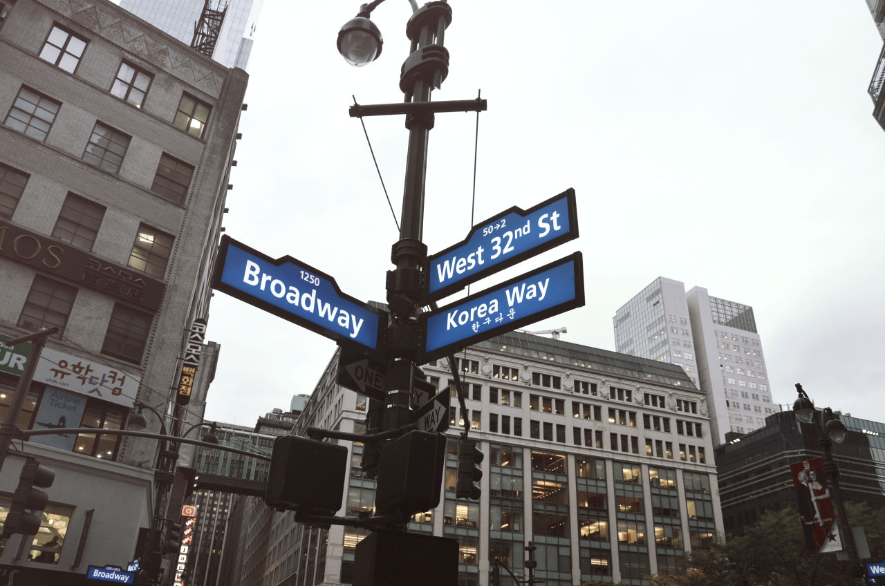 West 32nd Broadway Korea Way