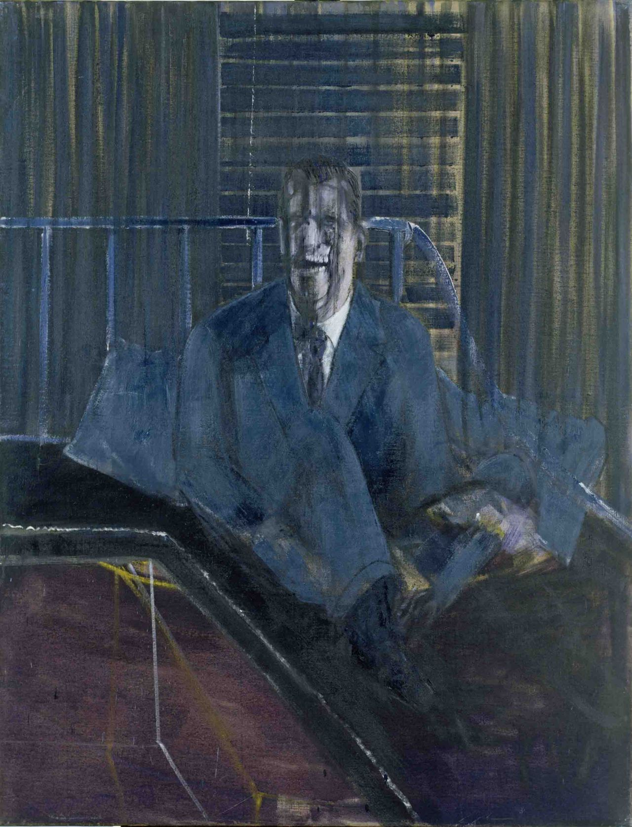 artandopinion:  Study For a Portrait 1953  Francis Bacon