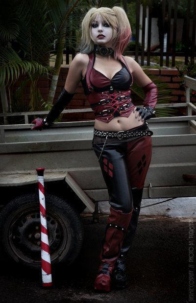 cosplay - harley quinn - shermie cos
