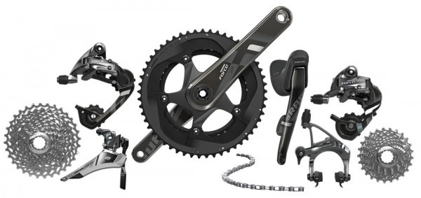 New Sram Red and Force 22 speed component groupsets.