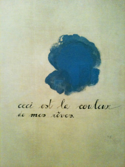 breathingvioletfog:  Joan Miró, This Is the Color of My Dreams, 1925