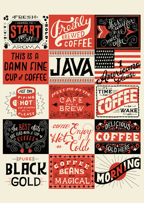 septagonstudios:  Mary Kate McDevitt   coffee coffee coffee