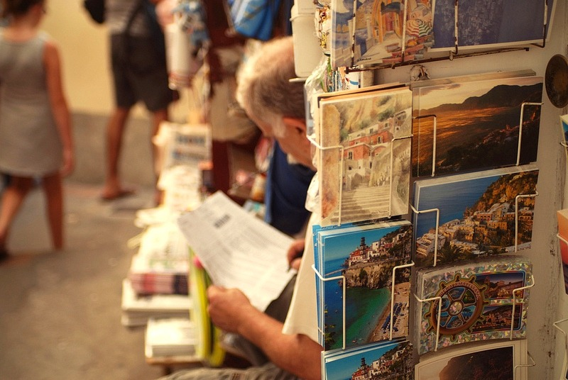 | ♕ |   Postcards from Positano  | by © Silvia Sala