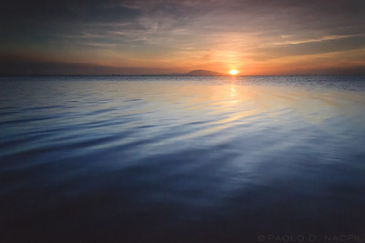 capturedphotos:  A Calm Sunset Calatagan, Batangas, Philippines. Photographed by: Paolo Nacpil