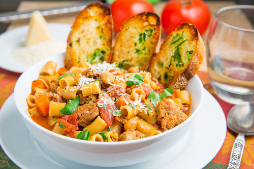 Pasta e Fagioli Soup (Italian Bean and Pasta Soup) by Kevin - Closet Cooking on Flickr.