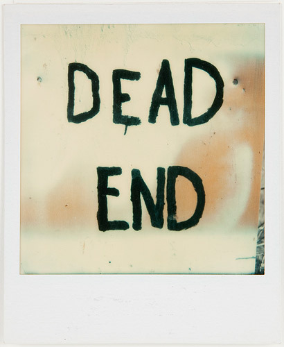 Walker Evans no title 1974 color polaroid photograph 4 x 3 inches (10.8 x 8.890 cm