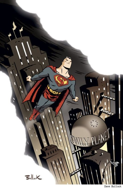 supermanblog:  Superman by Dave Bullock http://superman-blog.com/