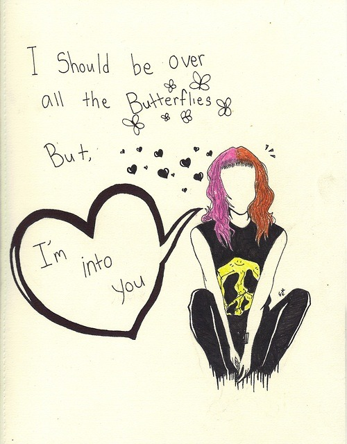 (2) paramore | Tumblr on We Heart It - http://weheartit.com/entry/61774592/via/cretiina1   Hearted from: http://florentinadotiririca.tumblr.com/post/50691879528