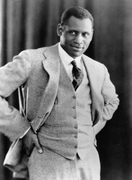"vintageblackglamour:  Paul Robeson, majestic singer and actor, brilliant scholar and athlete, fierce political activist and all-around renaissance man, in a 1925 photo by Edward Gooch. According to Shadow And Act, David Harewood, the British actor and star of Showtime's ""Homeland"" is in talks to portray Mr. Robeson in an upcoming film. Wynton Marsalis has signed on to score the film as well."