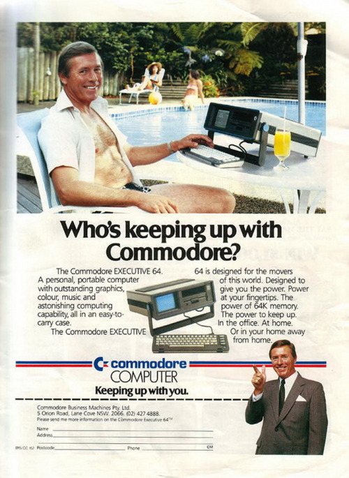 Commodore EXECUTIVE 64 - 1985 http://www.lemon64.com