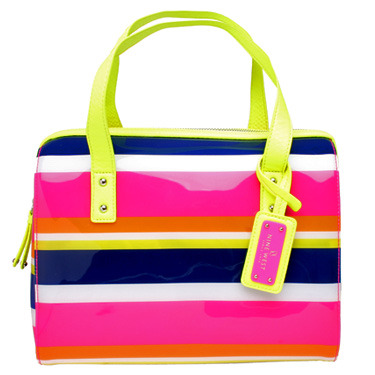 Summer is coming and by now we should all be rocking a colourful handbag, tote or clutch! I love the electric colours in this Nine West satchel. A great, fun nod to the 80's.
